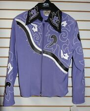 NEW 1849 Ranchwear Purple Lavender Horse Showmanship Jacket: S