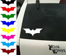 Batman Dark Knight Decal Car Window Bat Symbol Comic Marvel DC Sticker ANY SIZE