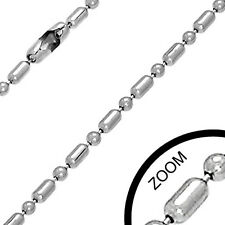 Urban Male Ball & Bar Link Chain 2mm Stainless Steel For Men W/ Free P+P