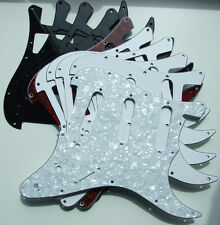 11-hole Import type scratchplate / pickguard for Stratocaster Strat guitar