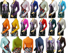 New Bolero / Shrug Cardigan Ladies Top - UK Size 10-22 - Available in 20 Colors