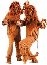 ADULT LION COSTUME KING OF JUNGEL LIONESS CUB ANIMAL JUMPSUIT COSTUMES 88065