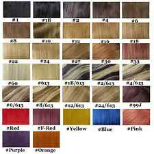"""Factory Outlet Price Choose20""""-22"""" Human Hair Extension Micro Loop 100S 50g-100g"""