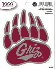 University of Montana - GRIZ - EXTERIOR DECAL (Sm / Med or Large)