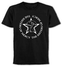 """""""The Sisters Of Mercy"""" Logo T-Shirt, Rock, Goth, Post Punk, All Sizes & Colours"""