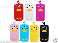 3D Cute Chick Soft Silicone Phone Case Cover For Samsung Galaxy S3 I9300 New