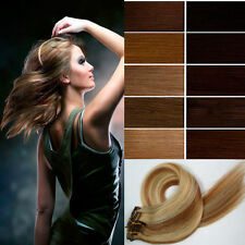 "Hot 20"" One Piece 5-clips Clip-on Human Hair Extensions 85g,  any color"