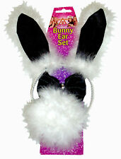 Hen Party Bunny Set - Ears, Bowtie and Tail