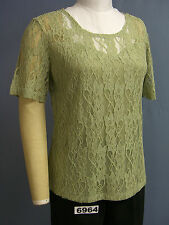 BFA CLASSICS NEW Front Lined Stretch Lace TOP!!! Lots of Colors - PETITE sizes!