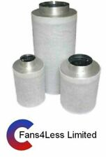 "Hydropoinc Grow Room Activated Carbon Filter 4"" 100mm,  5"" 125mm,  6"" 150mm"