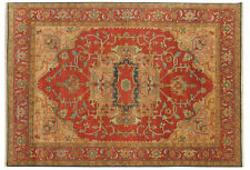 INDIAN HAND KNOTTED HERIZ SERAPI PERSIAN ORIENTAL RUG WOOL CARPET ALFOMBRAS HALI