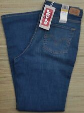 LEVI'S 512 MISSES PERFECTLY/SLIMMING BOOTCUT AT WAIST MID FADE JEANS LIST $54