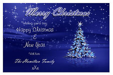 Personalised Xmas Christmas Cards N16~ Send a special Christmas card!