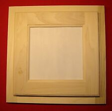 "LAUNDRY / CLOTHES CHUTE DOOR & FACE FRAME ""PAINT GRADE"" POPLAR UNFINISHED"