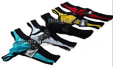 Sexy Brand New Sexy Boy's Mens Transparent Gauze Underwear Bikinis Thongs