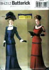 Butterick 4212 OOP Miss Victorian Gown Pattern 6-10/12-16/18-22