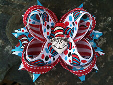 CAT HAT RESIN BOUTIQUE HAIRBOW