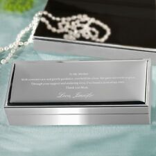 To My Mother | Mother's Keepsake Jewelry Holder Box + Option to Personalize