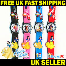 Snow White 3D Quartz Kids Watch Girls Boys Childrens Gifts Watches Christmas