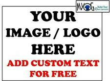 * CUSTOM IRON ON T SHIRT TRANSFER *ANY IMAGE OR LOGO & TEXT FOR SPORTS WEAR   *