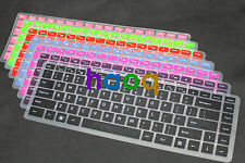 Color Backlit  Keyboard skin cover for DELL VOSTRO 2420 2520 3460 3560
