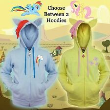 Choose Adult Mens MLP My Little Pony Friendship Magic Costume Hoodie Sweatshirt
