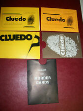 Replacement/spare MURDER card envelope for CLUEDO : choice of styles available