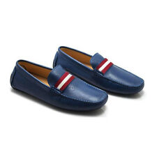 Leather slip on penny loafer mens car shoes business shoes boots [JG]