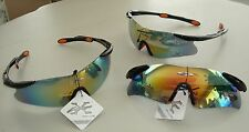 NEW XLOOP MEN WOMENS SPORT WRAP AROUND PLASTIC SUNGLASSES BLACKS 100% UVA & UVB