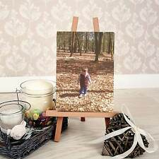 Personalised MINI CANVAS plus EASEL for DESKTOP
