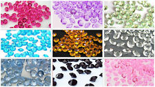 4.5mm Diamond Confetti Wedding Floral Vase Favor Party Decoration Table Scatter