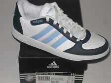 Juniors New ADIDAS Basketball Low Leather Trainers