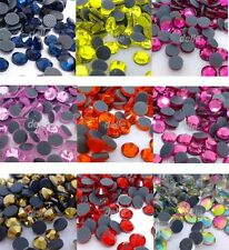 7200pcs DMC Iron On Hotfix Crystal Rhinestones Special Colors SS10, SS16, SS20