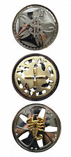 Brand New Mens Belt Buckle Spinning Bullets Dollar $ Scorpion Metal Designs