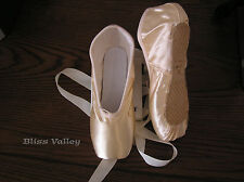 New Satin Ballet Pointe Shoes - Women's sz 5M  6M  7M  7.5M  8M  8.5M  9M