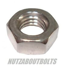 m5/6/8mm a2 stainless steel metric Left hand thread Hexagon full nut/nuts