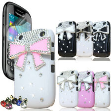 Pour Blackberry Curve 9320 LUXE 3D Crystal Diamond Bling strass cas couvrir