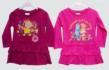 NEW UPSY DAISY GIRL'S JERSY DRESS In the Night Garden Ages 6-23 Months, 2-3 yrs