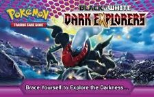 POKEMON TRADING CARD GAME - BLACK & WHITE DARK EXPLORERS COMMON CARDS MINT
