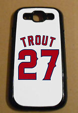 Samsung Galaxy S 3 Mike Trout Los Angeles Angels Scene Case Cover