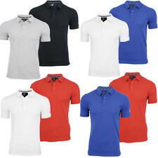 Mens Dissident '2 Pack' Polo T-Shirts Short Sleeved