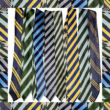 School Uniform Tie CHEAPEST on eBay striped Ties super fast delivery FROM UK