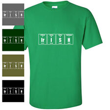 IRISH ELEMENTS ST PATRICK'S DAY funny pattys MENS T-SHIRT