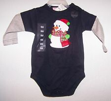 Snowman-Just Chillin 2pc Romper Pant Set choice of size Retail 24.99 NEW
