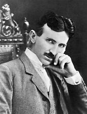 NIKOLA TESLA GLOSSY POSTER PICTURE PHOTO engineer alternating current ac 1537