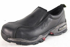 Nautilus 1601 Women's Black Steel Toe (Alloy Lite) ESD Safety Leather Work Shoes
