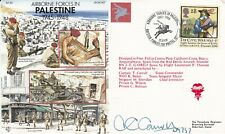 Set of 5 Airborne Forces in Palestine.Signed by 5 Red Devils parachutist's