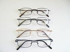47-19-135 Rectangle Full Rim Metal Frame by Jinmu 4 Colors, Retail $89 SAVE 80%