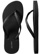 NWT Ladies FLIP FLOPS Old Navy Thong Sandals SIZE 7,8,9,10,11 BLACK Shoes