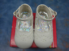 NEW Baby Girl WHITE shoes/Wedding/B-Day/Baptism/Christening /Size 2,3,4,5,6 SALE